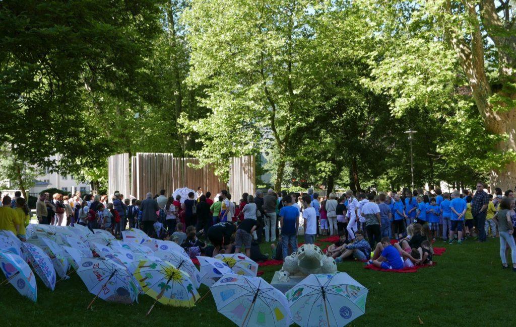 Lese-Schirm-Fest – Photoschau